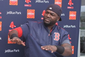 Big Papi laughs off retirement talk.