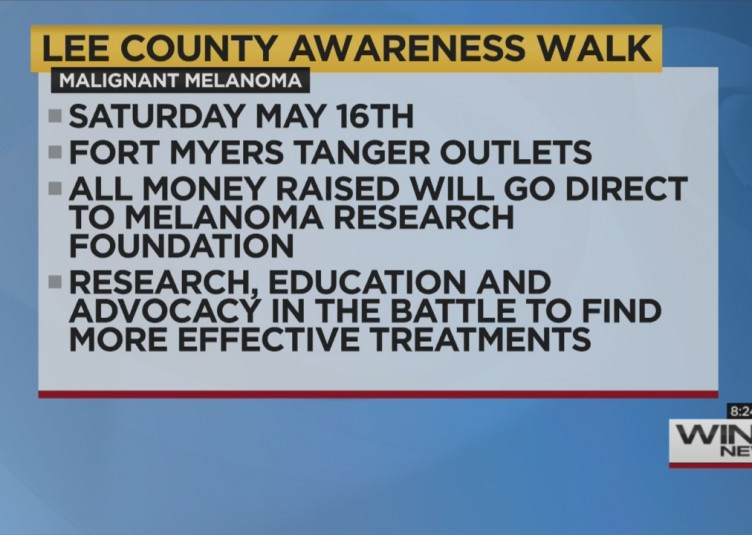 CANCER WALK FOR MELANOMA AWARENESS