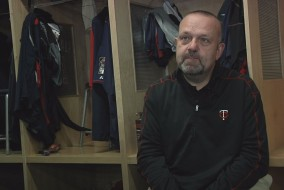Twins President Dave St. Peter